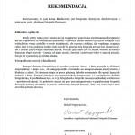 Rekomendacja AFDz