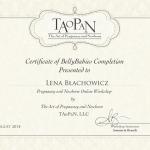 Certificate TAoPaN -  Level 1