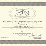 Certificate TAoPaN -  Level 2
